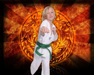 Martial Arts Flame Strike