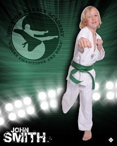 Martial Arts Lime Light