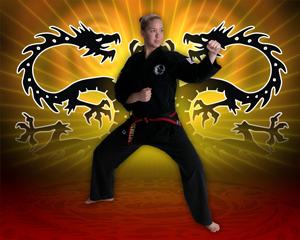 Martial Arts Twin Dragons