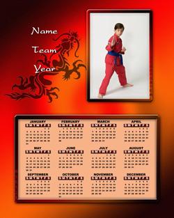 Martial Arts Calendar