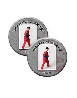 Martial Arts Buttons